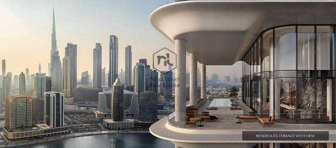 4 Bedroom Apartment for Sale in Business Bay, Dubai - Luxurious Finishing   Burj Khalifa   Iconic Tower
