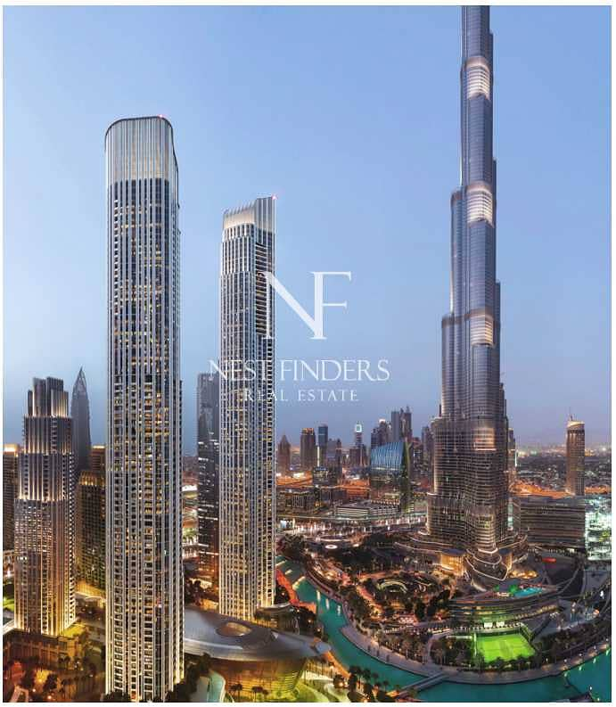 Rising at the northern side of Dubai Opera