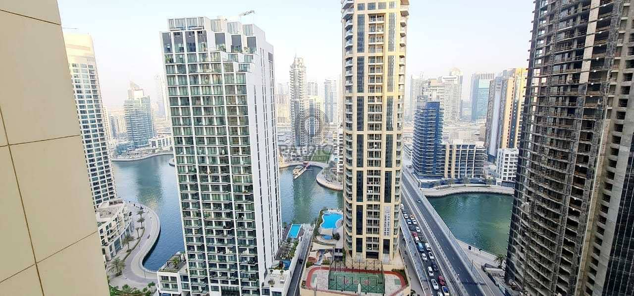 Full Marina View| Spacious 1 Bed plus 2 Balcony For Rent |Just listed