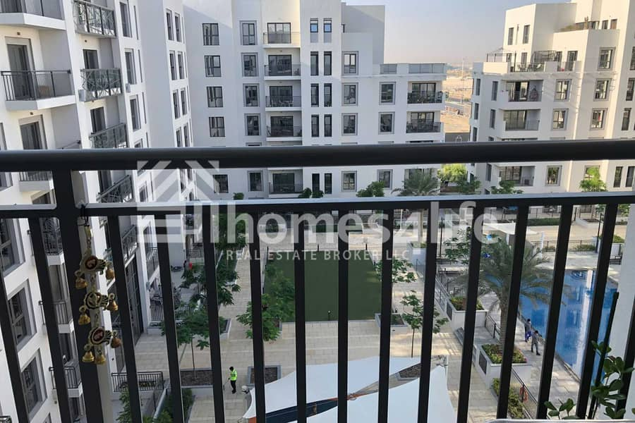 11 High Floor 2BR   Pool View   Vacant On Transfer