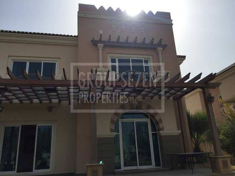 5 BR Villa with Golf course view at Sports City