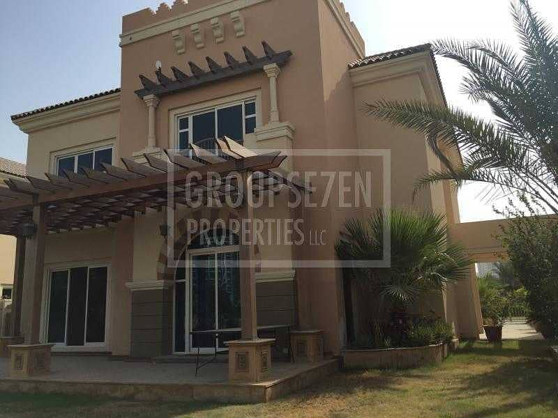 2 5 BR Villa with Golf course view at Sports City