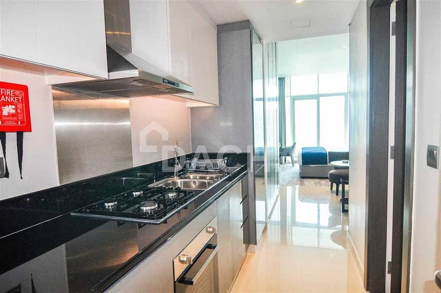 2 Luxury Furnished Studio with Balcony / 12 Chqs