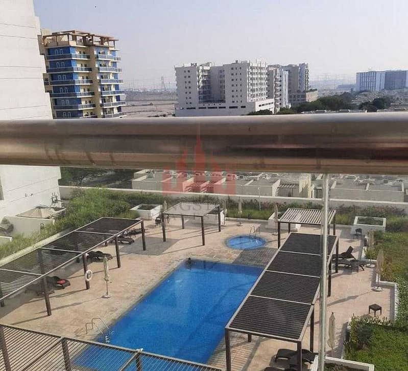 Amazing Pool View!! Chiller Free & Furnished 1 BR Candace Acacia