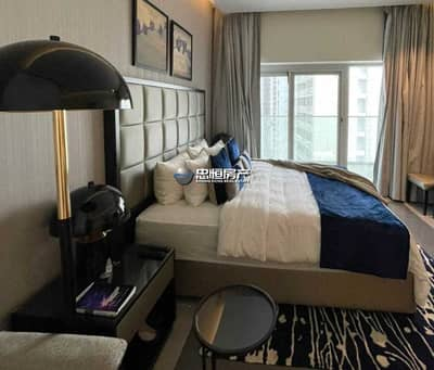 Studio for Rent in Business Bay, Dubai - Fully Furnished | Big Layout | High Floor