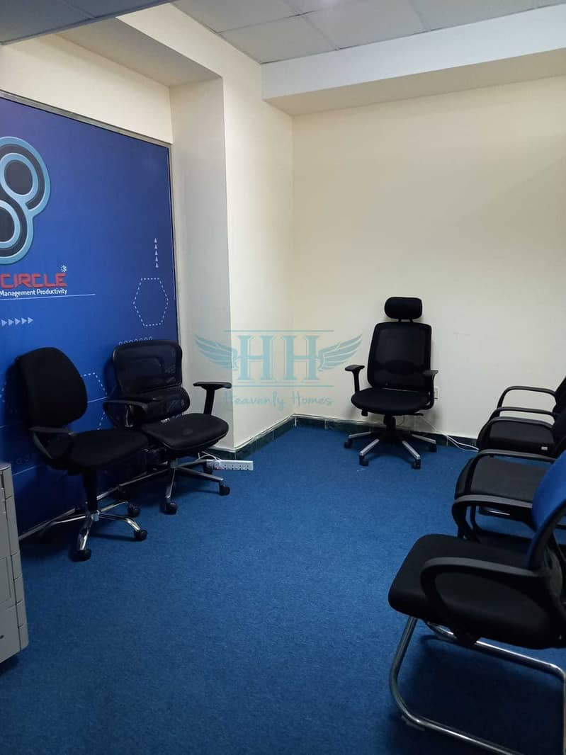 FULLY FITTED OFFICE FOR RENT  @ BUSINESS BAY