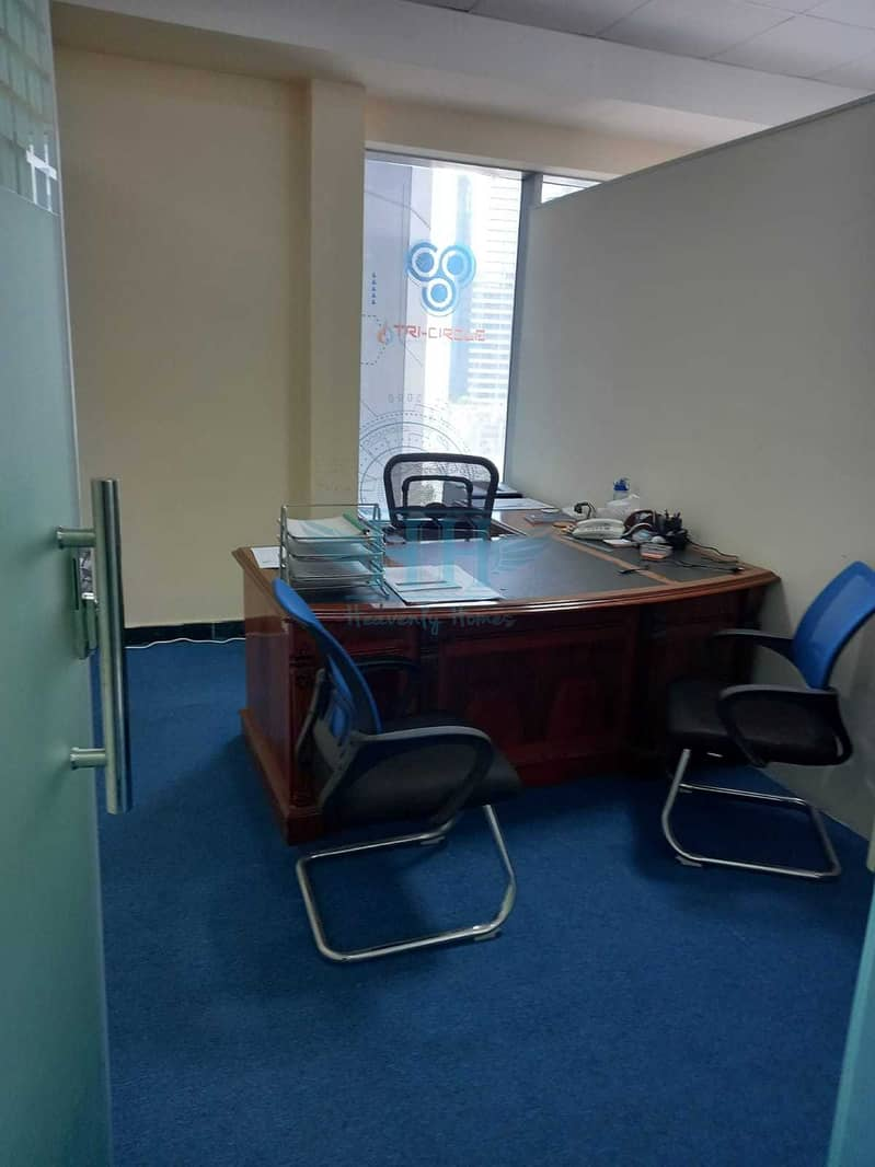 2 FULLY FITTED OFFICE FOR RENT  @ BUSINESS BAY