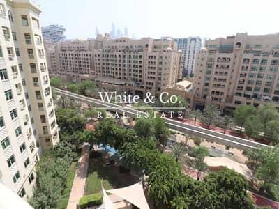 فلیٹ 3 غرف نوم للايجار في نخلة جميرا، دبي - High Floor | Park View | Unfurnished