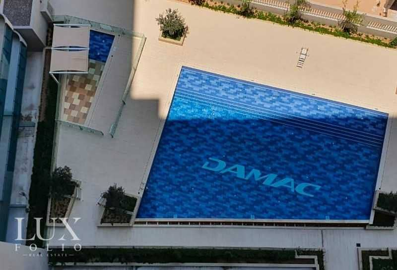 Fully Furnished  Pool View   Chiller free