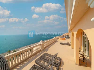 4 Bedroom Flat for Sale in Palm Jumeirah, Dubai - Fully Furnished I Amazing Sea View I Private Pool