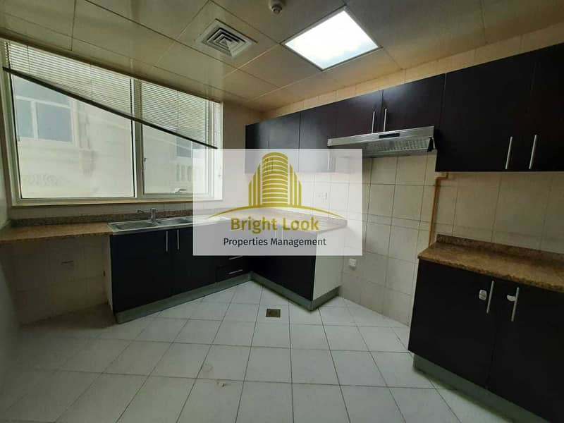 19 Delightful 2 BHK  with maids room Yearly 65000 for 4 Payments Located Najda Street
