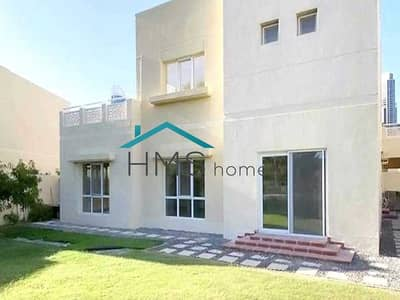 4 Bedroom Villa for Rent in The Meadows, Dubai - Amazing Type 12 Backing the Lake in Meadows 2