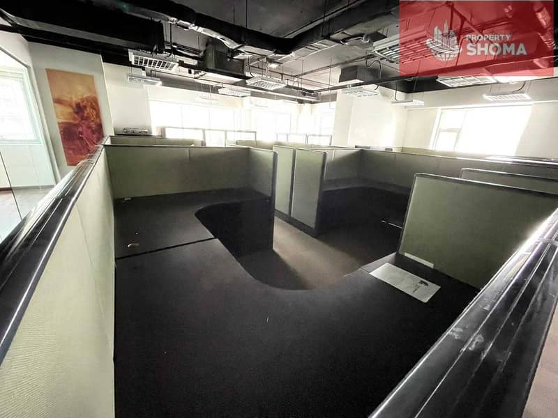 13 Office Space I Fully Fitted I For Rent in aspect tower