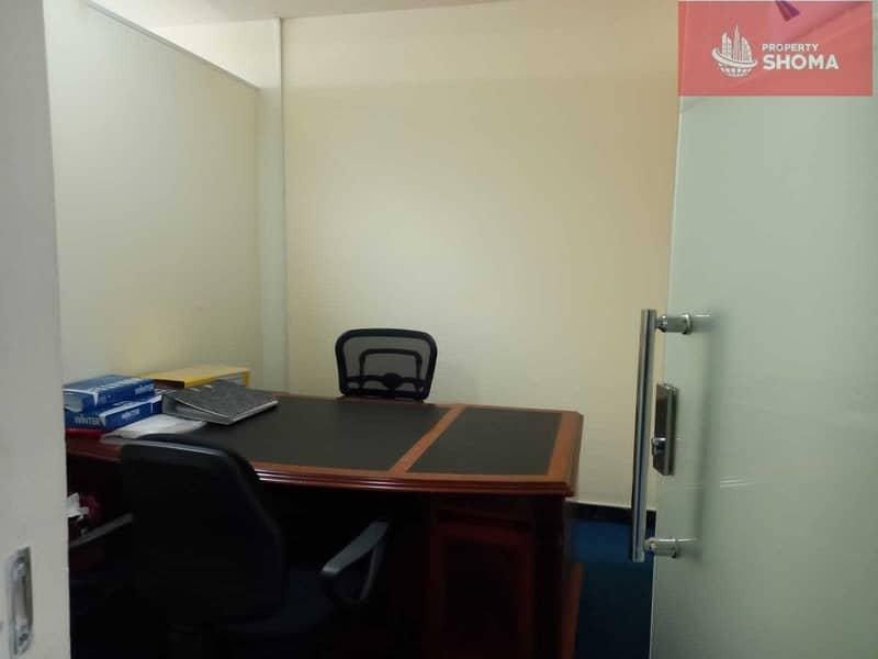 2 Office Space | Fully Fitted & Furnished | For Rent