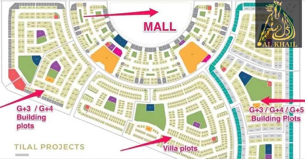 12 Amazing Spacious Residential Plot for sale in Tilal City