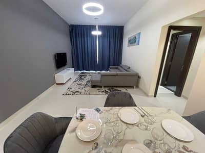 FULLY FURNISHED BRAND NEW LUXURY 2BR BEHIND CROWN PLAZA 85K WITH FELXY PAYMENT WITH GYM POOL