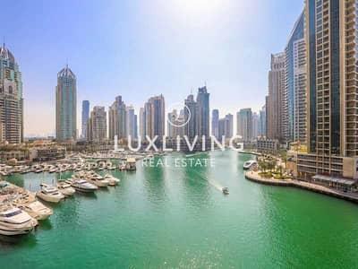 شقة 2 غرفة نوم للبيع في دبي مارينا، دبي - Exclusive | Stunning 2 Beds | Full Marina View