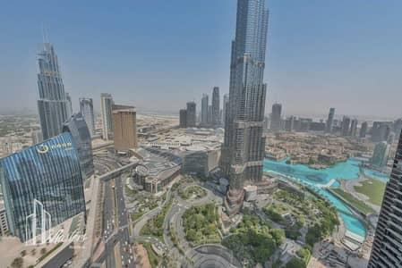 3 Bedroom Apartment for Sale in Downtown Dubai, Dubai - Spacious 3BR Flat   Full Burj Kalifa & Fountain View   High Floor