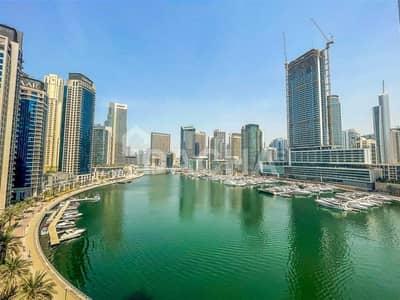 شقة 1 غرفة نوم للايجار في دبي مارينا، دبي - Best Marina view / Furnished / Chiller Free