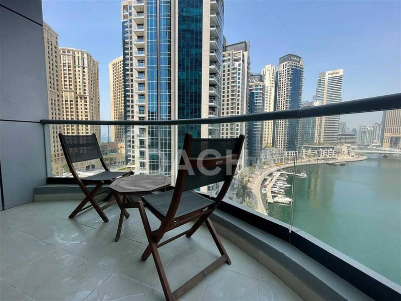 2 Best Marina view / Furnished / Chiller Free