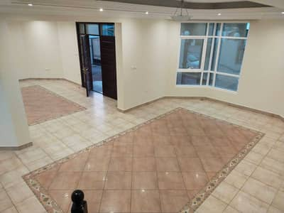 3 Bedroom Villa for Rent in Nad Al Hamar, Dubai - 3B/R Shared Pool nice living Maid with Garden  Semi Independent Villa for Rent