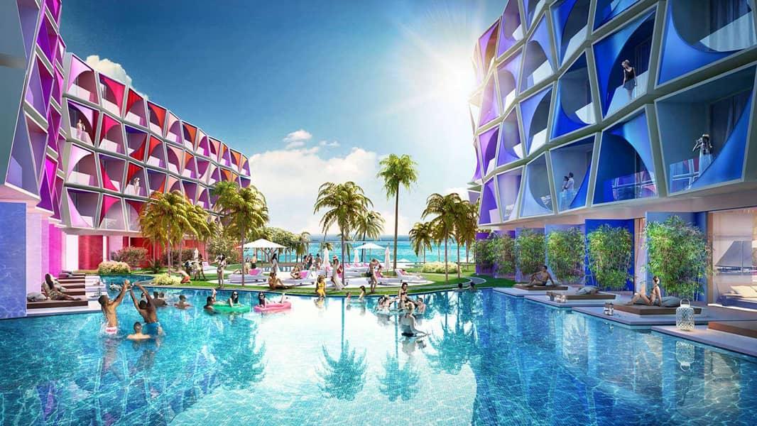 2 Luxury Hotel Room on The World Islands