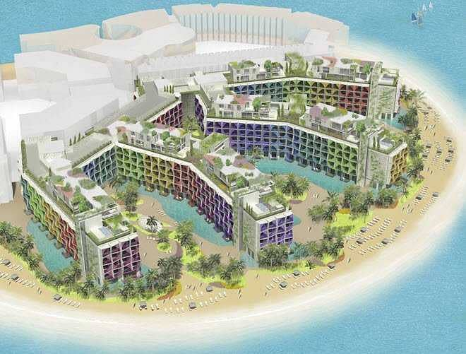 11 Luxury Hotel Room on The World Islands