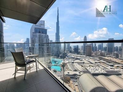 3 Bedroom Flat for Rent in Downtown Dubai, Dubai - Full Burj Khalifa View - Brand New - Fully Furnished