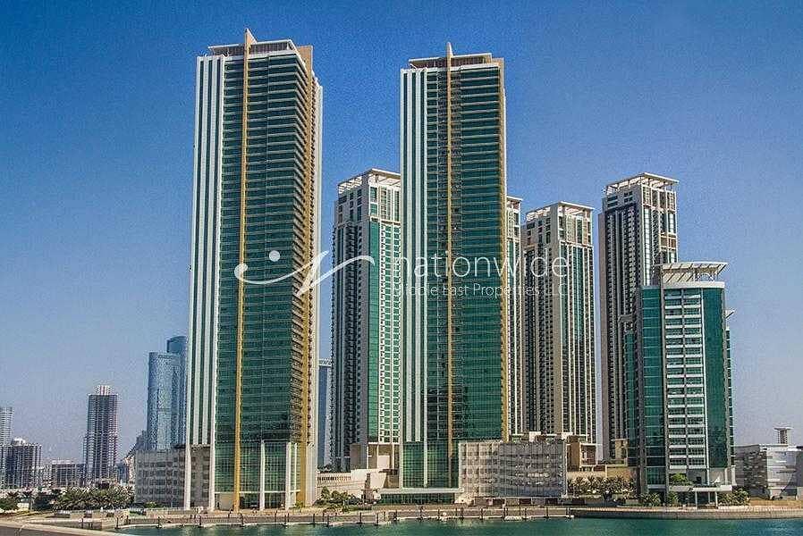 شقة في برج تالا مارينا سكوير جزيرة الريم 1 غرف 53000 درهم - 5378666