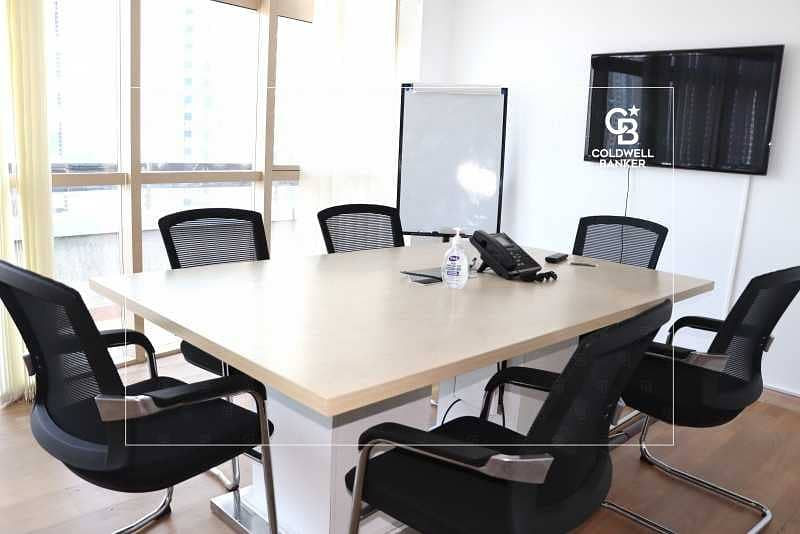 Premium Upgraded Furnished Office | Near Metro | SZR View