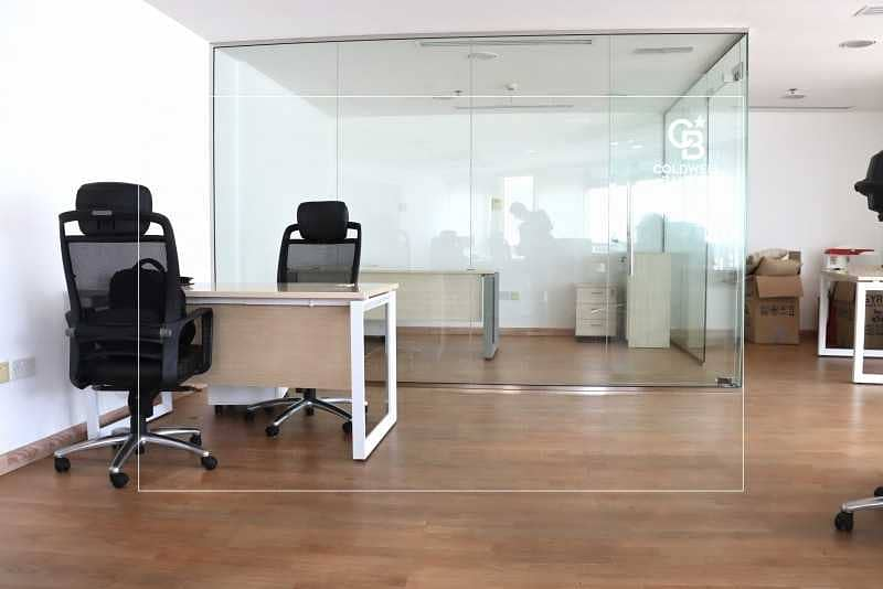 2 Premium Upgraded Furnished Office | Near Metro | SZR View