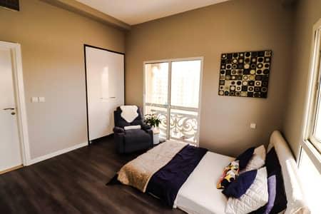 شقة 1 غرفة نوم للايجار في رمرام، دبي - FULLY FURNISHED EXTRAVAGANT MATERIAL ONE BEDROOM
