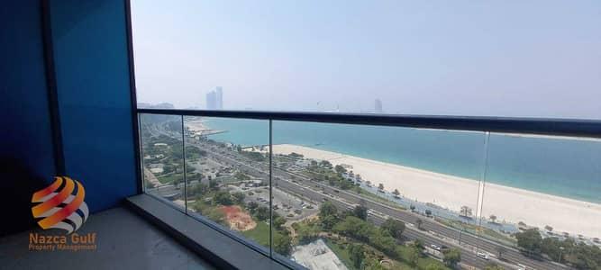 فلیٹ 3 غرف نوم للايجار في منطقة الكورنيش، أبوظبي - Full Sea View for Elegant & Spacious Apartment