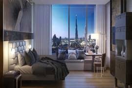luxury  Furnished 1 BHK   7Yr Payment Plan   Burj Khalifa View