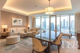 High Floor | Burj Khalifa View  | Vacant