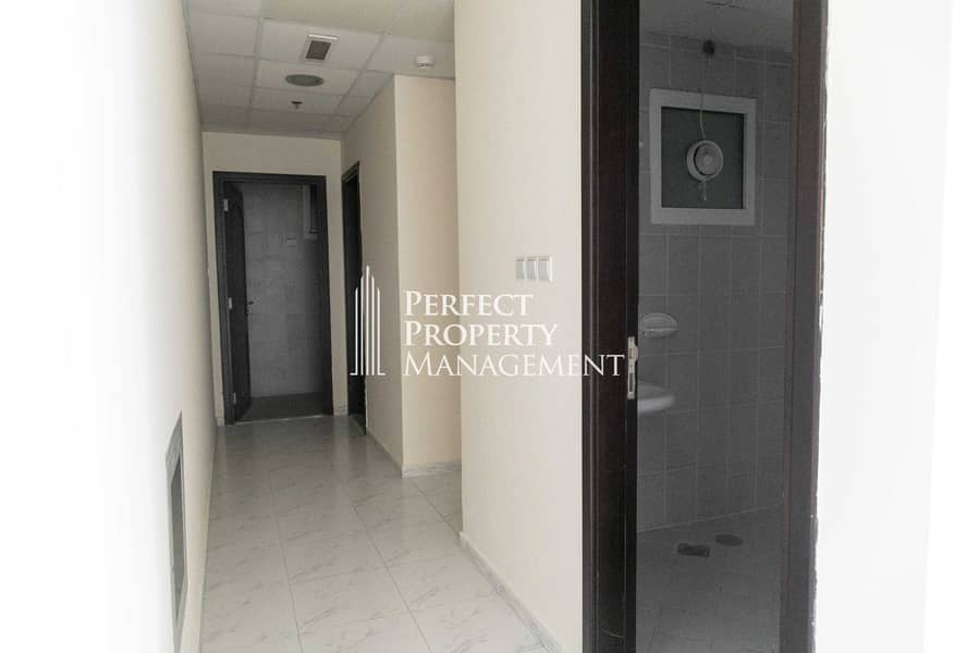 2 Big unfurnished Office in RAK Tower with balcony