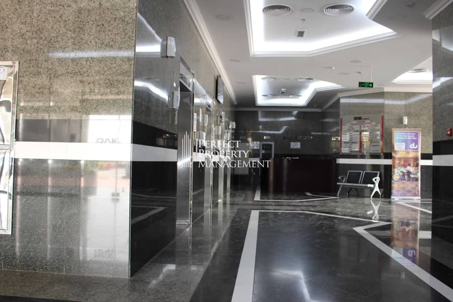 2 Office space with balcony in RAK Tower