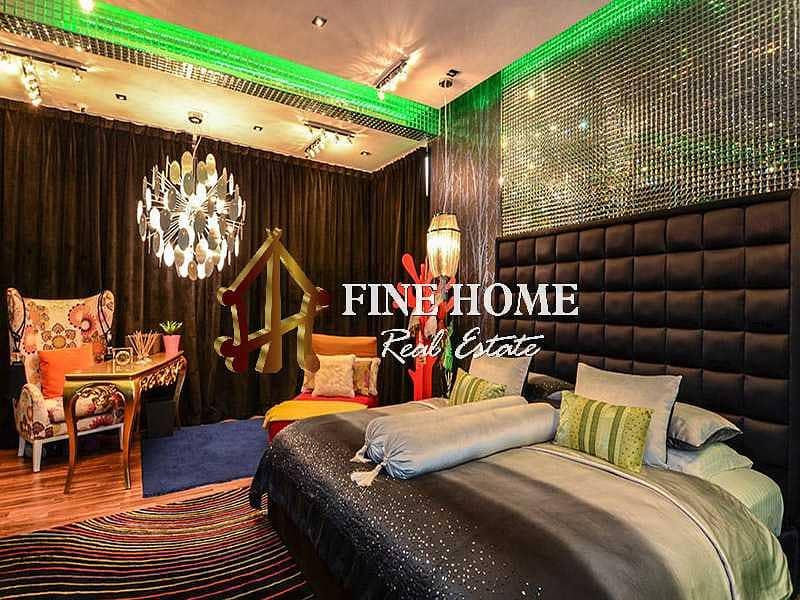 VIP 5 BR. villa  Full Furnished + lakes / Golf View