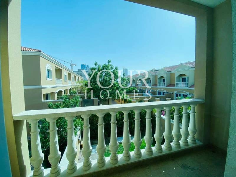 20 SB   Garden View Spacious 2BHK Townhouse For Sale