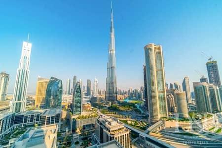 3 Bedroom Flat for Rent in Downtown Dubai, Dubai - Burj Views | Bills Included | Huge Layout