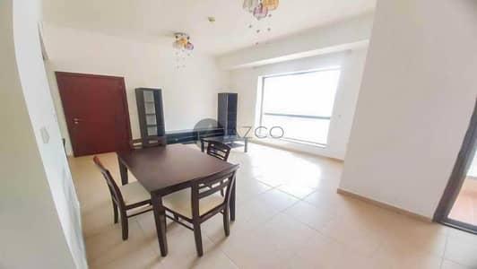 فلیٹ 1 غرفة نوم للايجار في جميرا بيتش ريزيدنس، دبي - معيشه واسعه | إطلالة على البحر | أفضل موقع