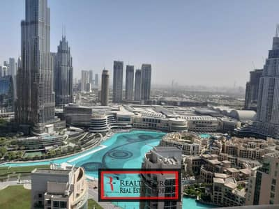 2 Bedroom Flat for Rent in Downtown Dubai, Dubai - FULLY FURNISHED   HIGH FLOOR 2BR   FOUNTAIN VIEW