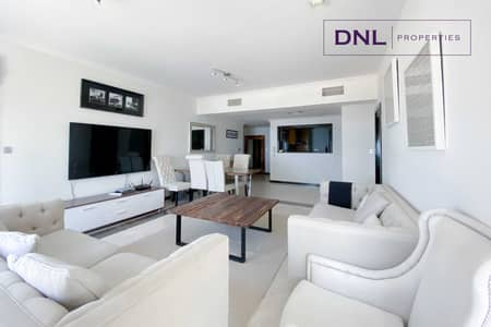 3 Bedroom Apartment for Sale in Jumeirah Beach Residence (JBR), Dubai - Panoramic Sea & Palm View   Fully FURNISHED