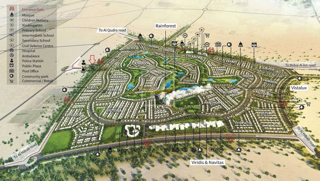 14 EXCLUSIVE | Fully Furnished | Ready to Move | Damac Hills 2 | VIP
