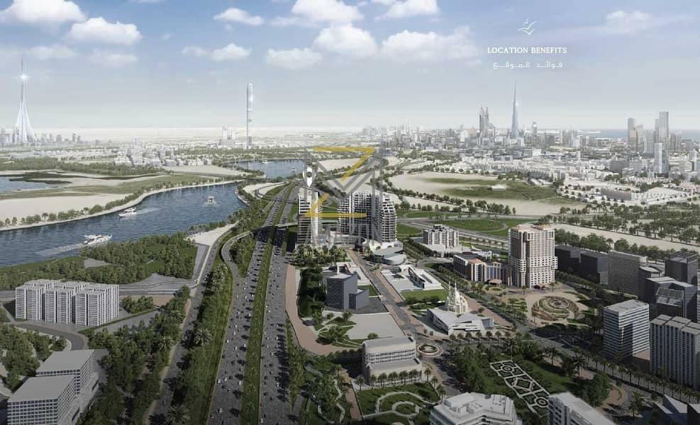 10 8% GUARANTEED ROI in 3 YRS | 30%DP 70% Handover | Fully Furnished | Full Creek View and Burj Khalifa View
