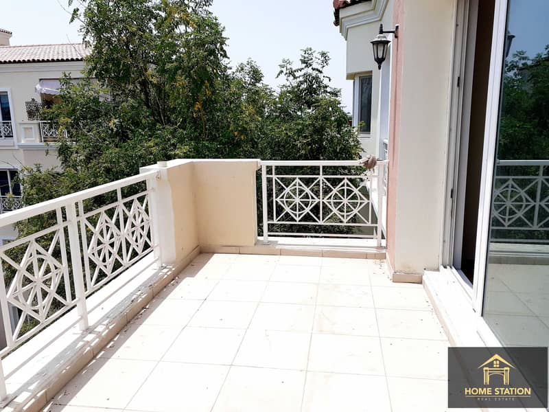 Vacant 1 BR  with Pool/Garden view