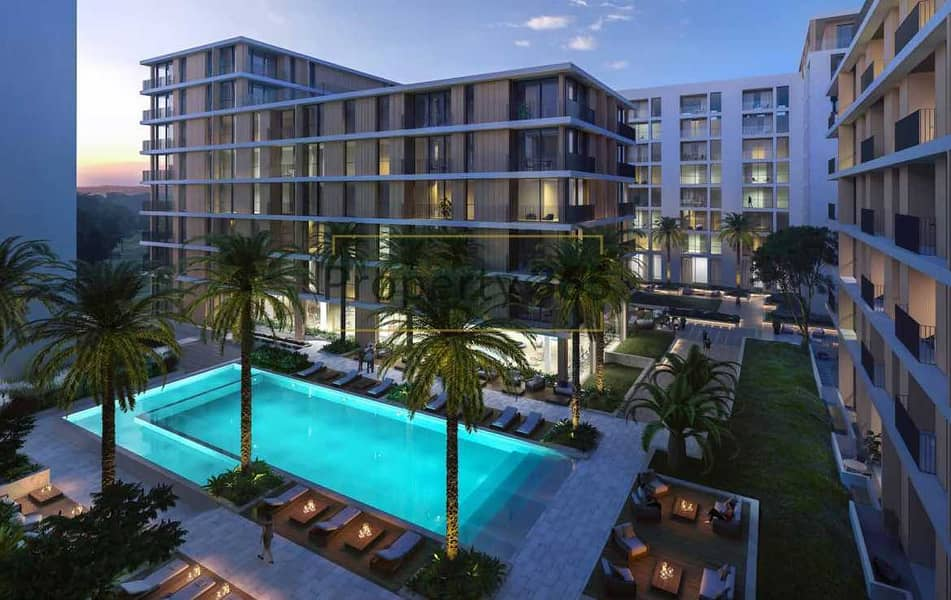 Stunning pool view / 2 bedrooms / Best Deal