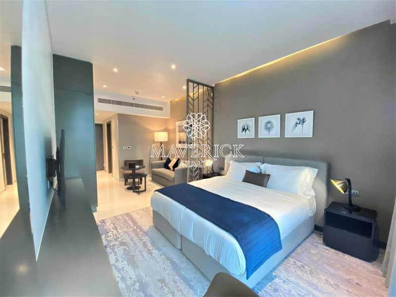 2 Exclusive+Brand New Furnished Studio | Canal View