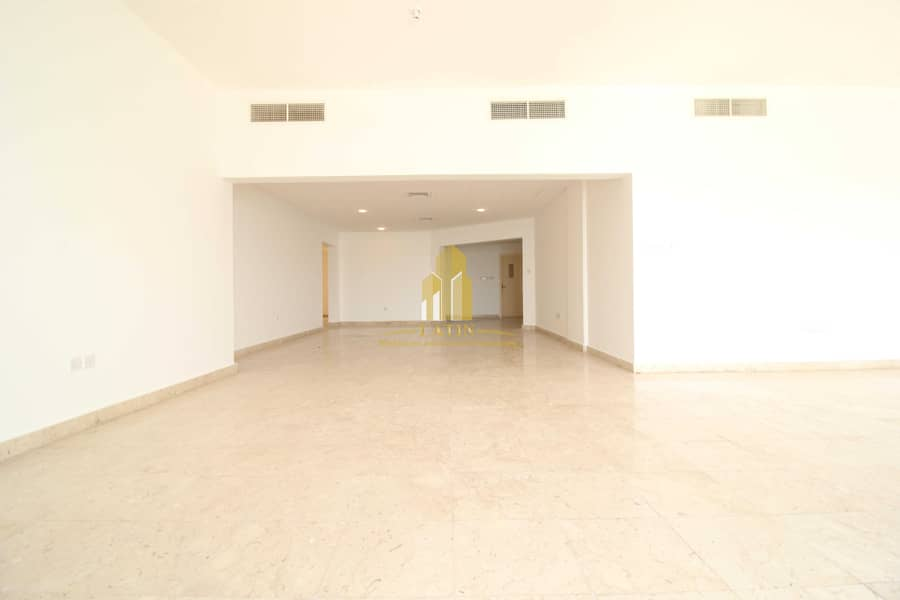 2 Full Sea View !   4 Bedrooms apartment with Maid or store room !   Spacious spaces.