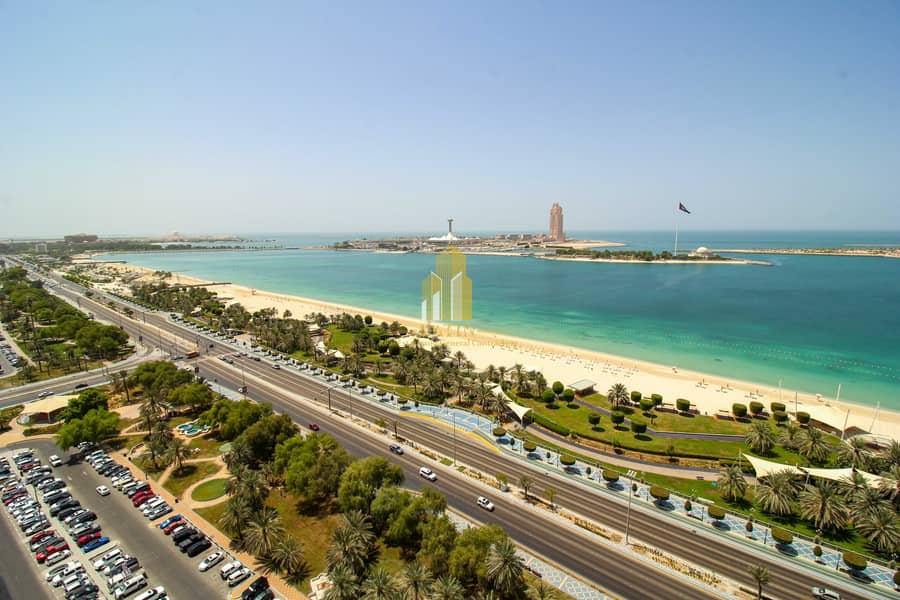 26 Full Sea View !   4 Bedrooms apartment with Maid or store room !   Spacious spaces.
